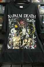 NAPALM DEATH- Utopia Banished VINTAGE SHIRT XL 1992 DEATH GRINDCORE CARCASS RARE