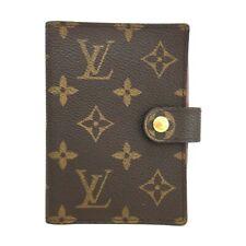 100% Authentic Louis Vuitton Monogram Mini Agenda Notebook Cover /oo91