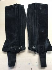 Childs Ariat Half Chaps - Small Black