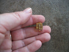 vintage Coca Cola Coke 10 year 10k gold employee award service pin 1970