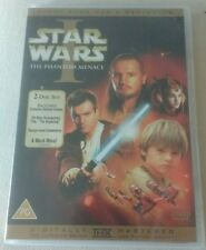 Star Wars Episode 1 The Phantom Menace DVD (2-Disc Set) George Lucas Liam Neeson