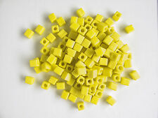 Miyuki Square  Frosted Rainbow Yellow Seed Beads (cubes) 3.5-3.7mm(25g)