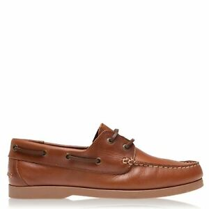 Jack Wills Mens Boat Shoes Padded Ankle Collar Everyday Tonal Stitching