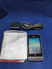 LG Optimus Net L45C Android Prepaid Phone Net 10 Excellent Condition