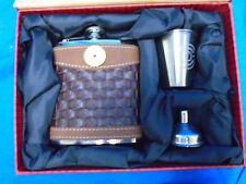 Bid Shot Flask Set 12 Gauge - Flask, Spout & Shot - Bid Sky Carvers