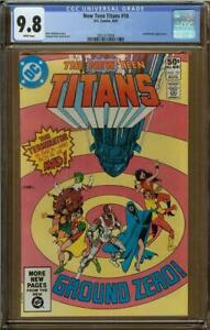 New Teen Titans #10 CGC 9.8 Deathstroke