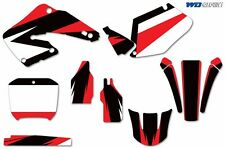 Graphic Kit Honda CR125 CR250 Dirt Decal Backgrounds Sticker CR 125/250 00-01 m
