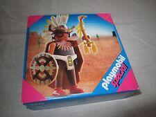 playmobil nr 4749 indiaan  medicijnman nieuw/neu/new western/3770