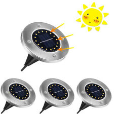 4 FARETTI 16 LED SMD SOLARE SEGNAPASSO CALPESTABILE ESTERNO GIARDINO TE-B2035