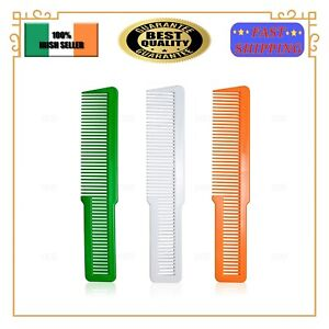 Barber Flat Top Comb Stylist Hair Clipping Fade Brush Hairdressing Comb EU