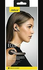Genuine Jabra ECLIPSE Universal Bluetooth Wireless NFC Headset Handsfree Black