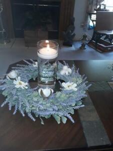 """Laserware 9"""" Memorial Floating Candle - (used only once for 2 hours)"""