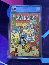 THE AVENGERS 83 1st App Valkyrie CGC 7.0 Marvel Comics Scarlet Witch Valkyrie