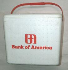 """Rare Vtg 1980's Banque De Amérique Bofa 13 """" X14 """" X12 """" Styrofoam Boisson Soda"""