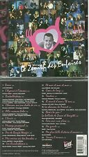 CD - LES ENFOIRES AU ZENITH 1997 / JOHNNY HALLYDAY, GOLDMAN, SANSON CABREL ZAZIE