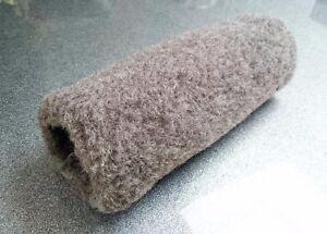 Hand Muffs Warmers Real Merino Wool Cozy Black Dark Grey 100% wool Muff /gloves