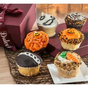 Halloween Assorted  Treat Cupcakes