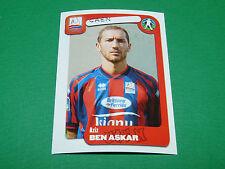 N°86 BEN ASKAR STADE MALHERBE CAEN SMC PANINI FOOT 2005 FOOTBALL 2004-2005