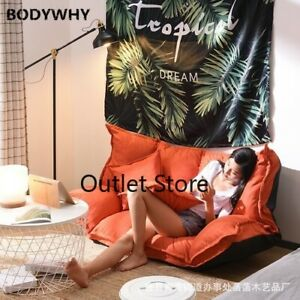 Lazy Sofa Tatami Folding Sofa Chair Japanese Multifunctional  Bedroom Sofa Bed