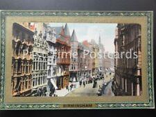 Warwickshire BIRMINGHAM Corporation Street c1911 by Raphael Tuck 729 Framed Gem