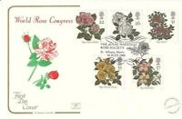 16 JULY 1991 ROSES COTSWOLD FIRST DAY COVER NATIONAL ROSE SOCIETY St ALBANS SHS