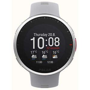 Polar Vantage V2 Quartz Digital Dial Grey Rubber Strap Smartwatch 90083650