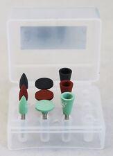 9PCS/SET Dental Clinic Kit Silicon Amalgam Polishing Burs Kit RA for Low-speed