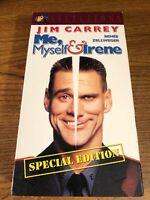 Me, Myself & Irene VHS VCR Video Tape Movie Jim Carrey Used