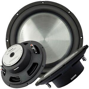 "Clarion WF3030D 1000W Max 12"" Dual 4Ohm Voice Coil Shallow-Mount Subwoofer"