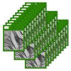 UNIV - GENERIC RESEALABLE BAG FOR BULK ITEM GREEN  LARGE 30 PACK
