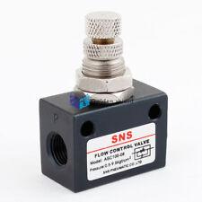 "ASC100-06 1/8""PT Female Thread Pneumatic Speed Controller Flow Control Valve"