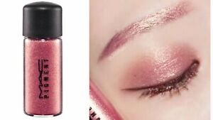 MAC Pigment Glitter Rose (pink) Sparkle Shimmer~Brand New In Box Full Size