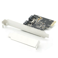 PCI-E Express SATA2 SATA2.0 3Gb/s 2 Port SATA II Expansion Card JMB362 Chipset