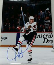 JEREMY ROENICK CHICAGO BLACKHAWK Autographed 8x10 Photo Score! W/COA