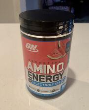 Optimum Nutrition Amino Energy + Electrolytes Watermelon Splash 30 Serving 8/22