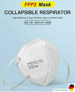 Mundschutz Atemschutz Maske KN95 FFP2 Feinstaub Gesichtsschutz