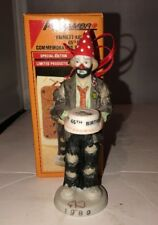 Emmett Kelly Jr Flambro 1989 Special Edition 65th Birthday Commerative Ornament