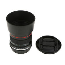 Lentille Portrait 85mm F / 1.8 à mise au point manuelle pour Canon EOS 5D
