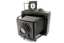 Nice Ica Minimum Palmos 6x9 folding plate camera, 12cm f4.5 Zeiss Tessar Lens