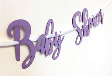 Baby Shower Bunting Mum Mummia Da Ragazza Ragazzo Regalo Gioco Idea Decorazione Carino