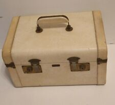 Vintage Atlas Of California Train Case Make Up Kit