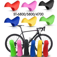 Silicone Bracket Shifters Lever Cover Hood for Road Bicycle ST-6800/5800/4700 !