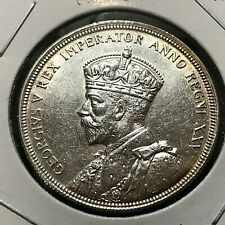 1935 CANADA SILVER DOLLAR NEAR UNCIRCULATED CROWN COIN