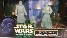 STAR WARS POTF JEDI SPIRITS Figure Box Set 1998 BNISB Yoda Anakin Obi Wan