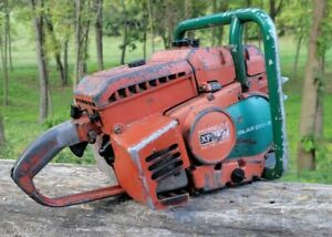 Vintage Homelite XP1130 Chainsaw, 100cc Gear Drive Muscle Saw
