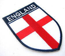 ENGLAND St George's Cross Embroidered Iron On Patch Soccer Football World Cup 18
