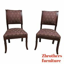 Pair Italmond Furniture French Regency Dining Room Side Chairs C