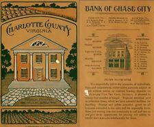1907 CHARLOTTE County, Virginia VA, History & Genealogy Family Tree DVD CD B49