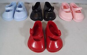 Pair of Cinderella Doll Strap Shoes Size 3 - Various Colours *One Pair Only*