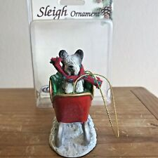 Skye Terrier Christmas Ornament Sleigh Dog Ornament New